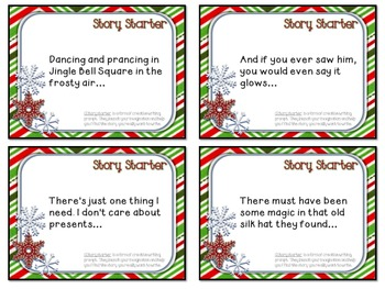 COLLABORATIVE WRITING USING SONG LYRICS: STORY STARTERS FOR WINTER HOLIDAYS