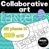 Collaborative art Easter