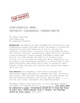 Collaborative/Interdisciplinary Project: Spy Wars