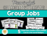 Meaningful Collabortive/Cooperative Learning Group Jobs