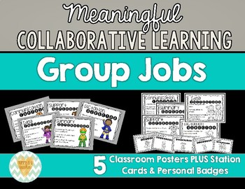 Collabortive/Cooperative Learning Group Jobs
