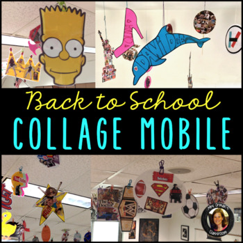 Collage Mobile Get To Know You Activity By Tracee Orman Tpt