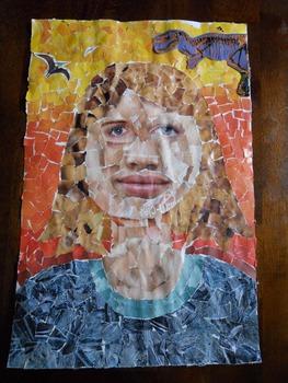 Collage Self-Portrait