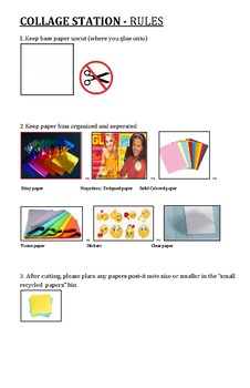 Collage Station Rules