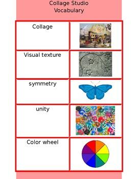 Collage Vocabulary