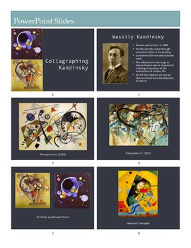 Collagraph Printmaking Lesson, Non-Objective Art & Wassily Kandinsky