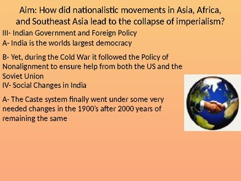 Collapse of Imperialism Powerpoint
