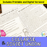 Collapse of the Soviet Union Reading & Writing (SS5H7, SS5H7a)