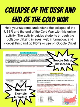 Collapse of the USSR and End of the Cold War