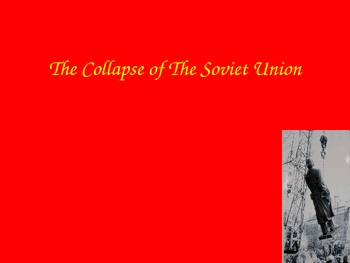 Collapse of the USSR powerpoint