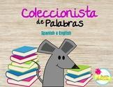 Collecionista de palabras/ word collector