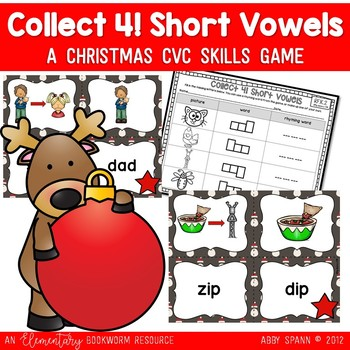 Collect 4 {A CVC Christmas Freebie}