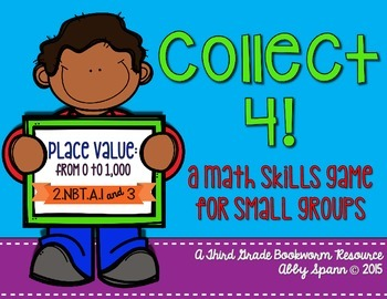 Collect 4! {Place Value: 0 to 1,000}
