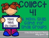 Fractions: Halves, Thirds, and Fourths {Collect 4!}