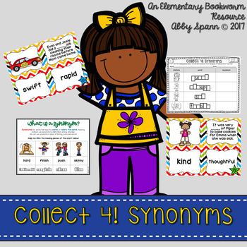 Collect 4! {Synonyms}