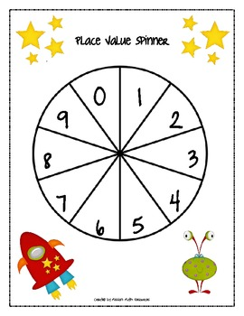 Collect A Number {Place Value with Expanded Notation}