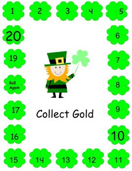 St. Patrick's Day -Collect Gold