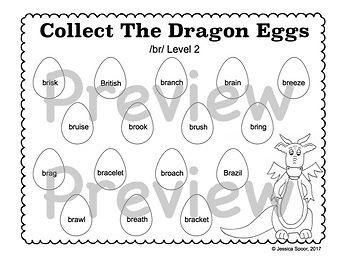 Collect The Dragon Eggs: Articulation Smash Mats for /r/-clusters