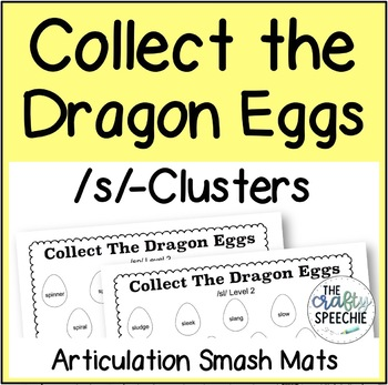 Collect The Dragon Eggs: Articulation Smash Mats for /s/-clusters