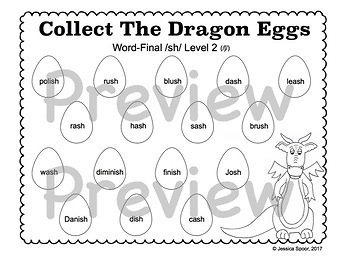 Collect The Dragon Eggs: Smash Mats Bundle for Later-Developing Sounds