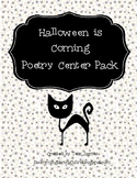 Halloween Is Coming Poetry Packet