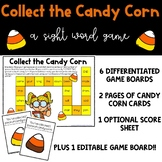 Collect the Candy Corn Sight Word Game