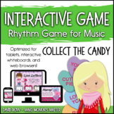 Interactive Rhythm Game - Collect the Candy Valentine's Day Rhythm Game
