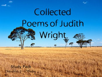 Collected Poems of Judith Wright