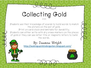 Collecting Gold-cvc