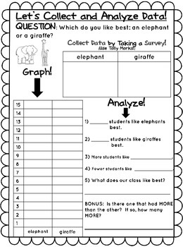 Collecting, Graphing, and Analyzing Data