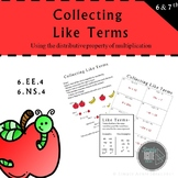 Collecting Like Terms Guided Notes