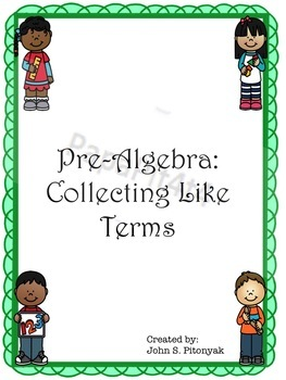 Collecting Like Terms (Pre-Algebra)