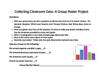 Collecting Classroom Data: A Group Poster Project