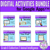 Collection 2 Animal Intelligence Digital Activities Bundle