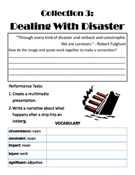 Collection 3 Guided Reading