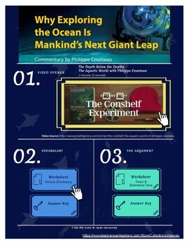 Collection 4, 4.2: Why Exploring the Ocean is Mankind's Next Giant Leap