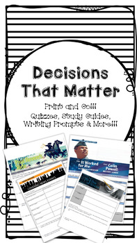 Collection 5 - Decisions That Matter Bundle