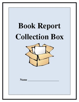 Book Report Project: A Collection Box