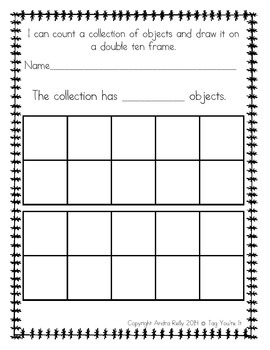 Collection Counting Record Sheets Freebie!