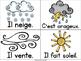 Collection Mur de mots - La météo (French Weather Word Wall Cards)