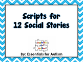 Collection of 12 Social Stories