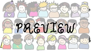 Collection of 24 Clipart Kids