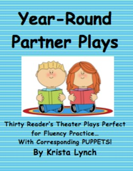 Collection of 30 Reader's Theater Partner Plays for Year-L