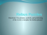Collection of 70 Rebus Puzzles