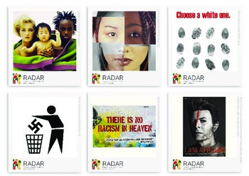 Collection of Anti-racist campaign images