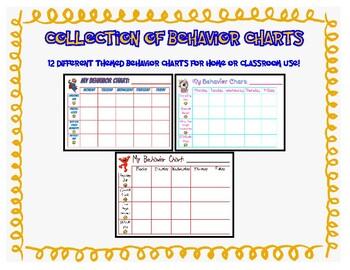Behavior Chart Collection