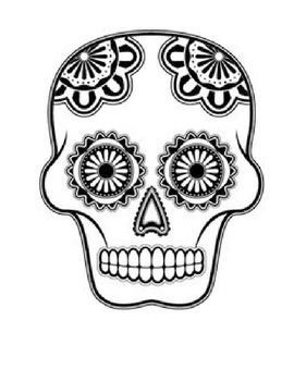 Collection of Calaveras to color for Day of the Dead