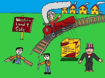 Collection of 20 Canadian History Cartoons (PowerPoint Format)