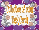 Collection of Coin Task Cards