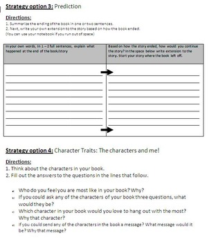 Collection of ELA Strategies